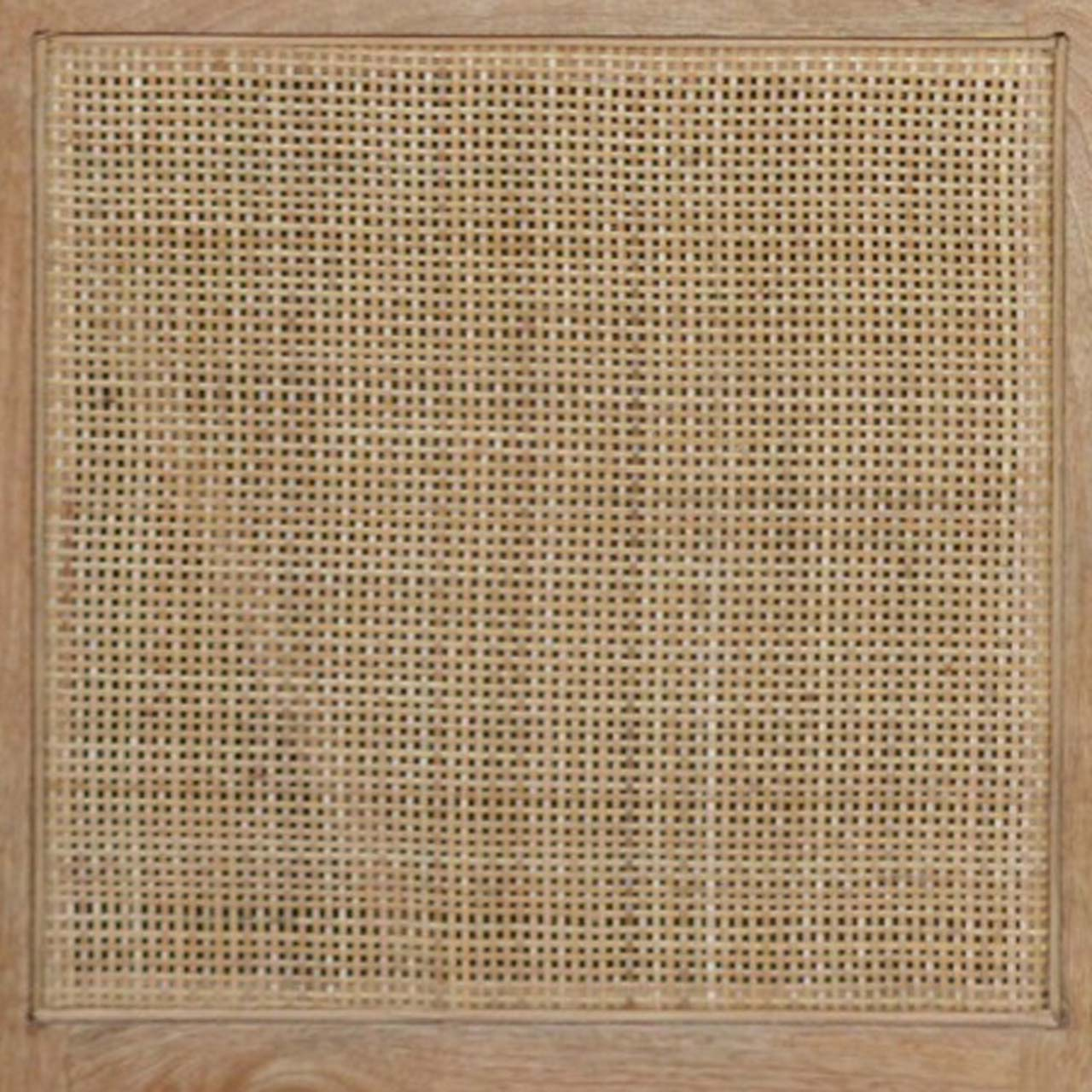 NETTING PATTERN RATTAN WORK FRAME
