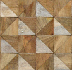 SQUARE TILE WOOD PATTERN