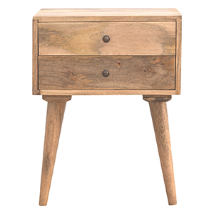 wholesale solid wood bedside in1381